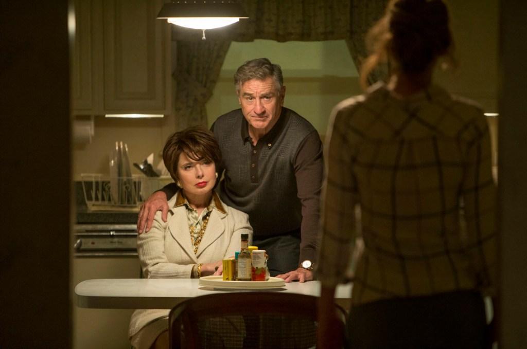 Robert De Niro, Isabella Rossellini, Jennifer Lawrence
