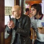 Mark Strong, Sacha Baron Cohen