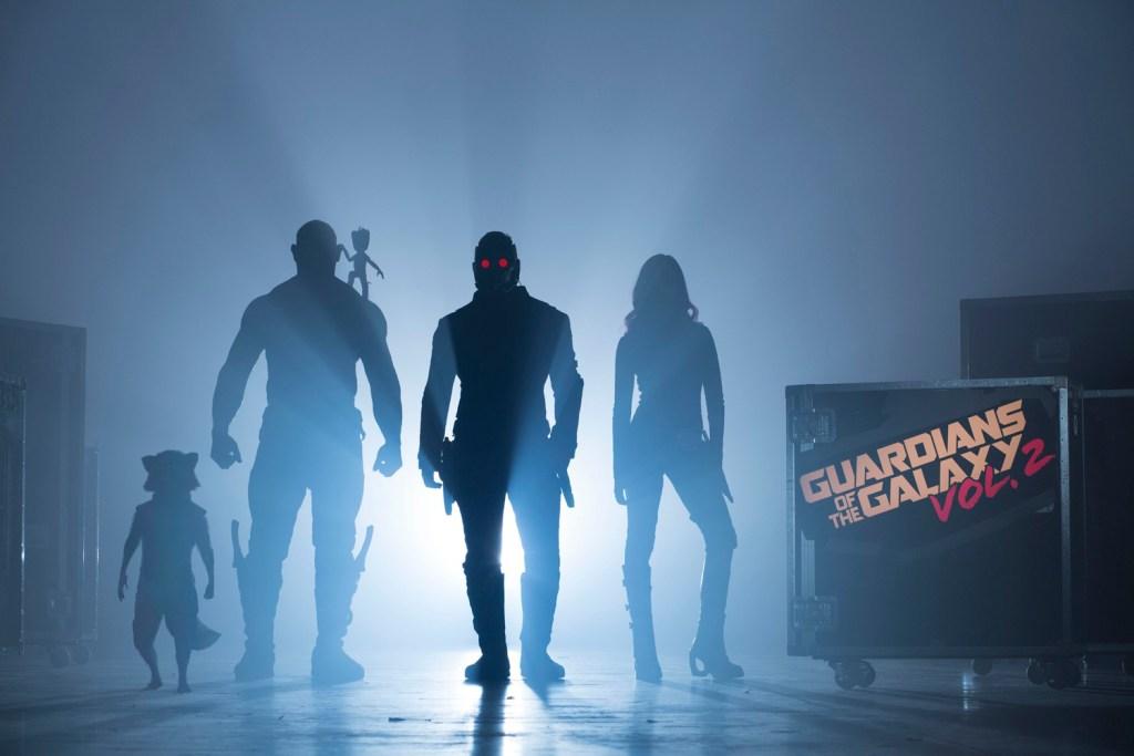 Vin Diesel, Bradley Cooper, Chris Pratt, Zoe Saldana, Dave Bautista