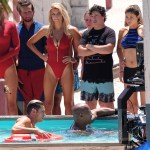 Alexandra Daddario, Zac Efron, Dwayne 'The Rock' Johnson, Kelly Rohrbach