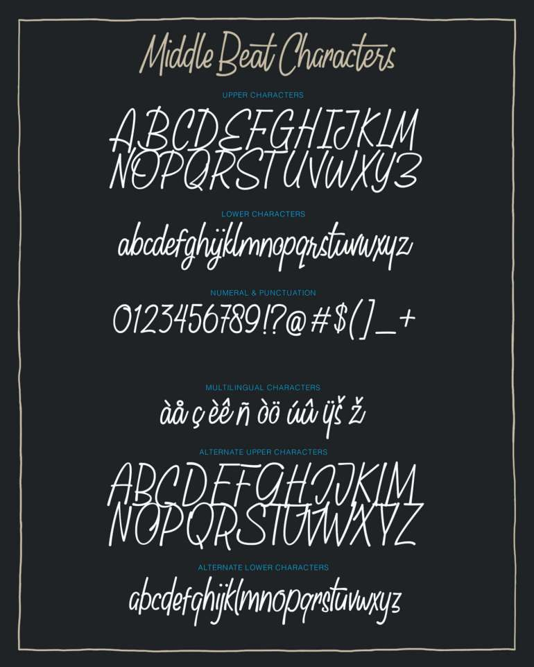 Best Selling Gorgeous Fonts 3-2