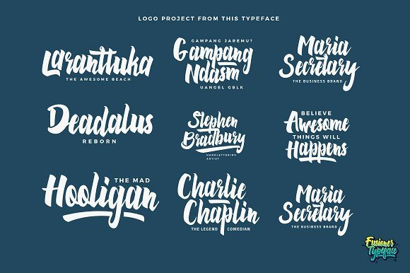 Best Selling Gorgeous Fonts preview4-1-1