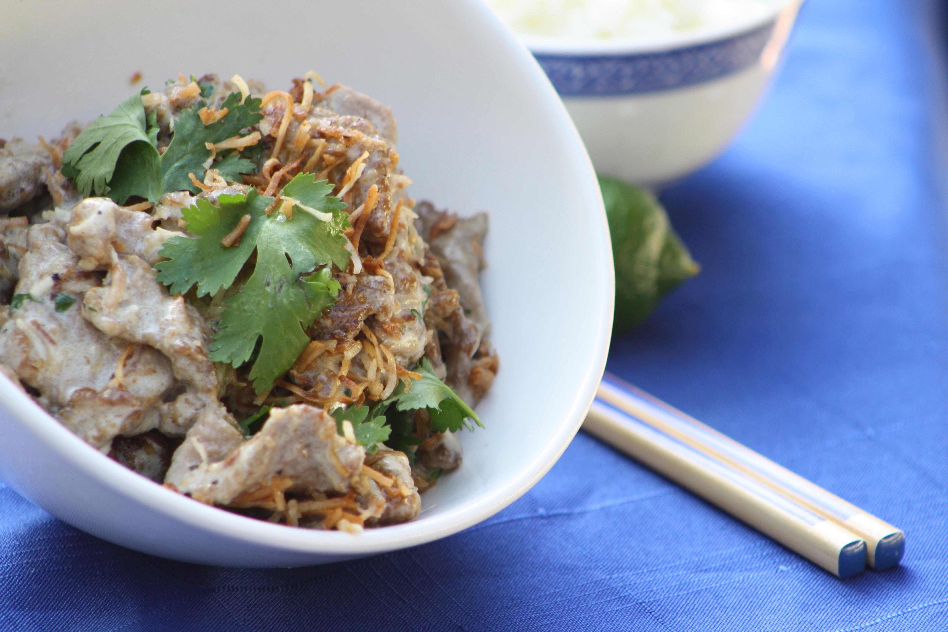Coconut Spiced Pork