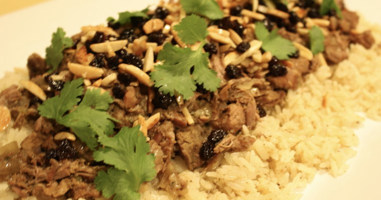 Arabian Lamb and Rice