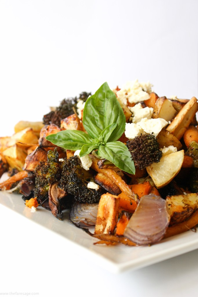 Roast Vegetable Salad | The Fare Sage