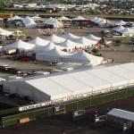 Joliet Speedway tent