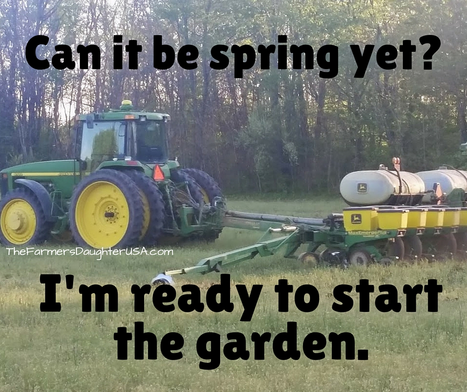 Can it be spring yet-