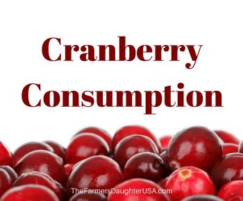 Cranberry Consumption