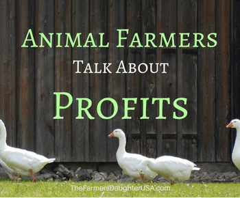 Animal Farmers Talk About Profits