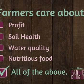 Farmers Care About…