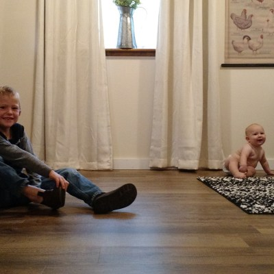 A New Generation of Flooring + Laundry Room Makeover