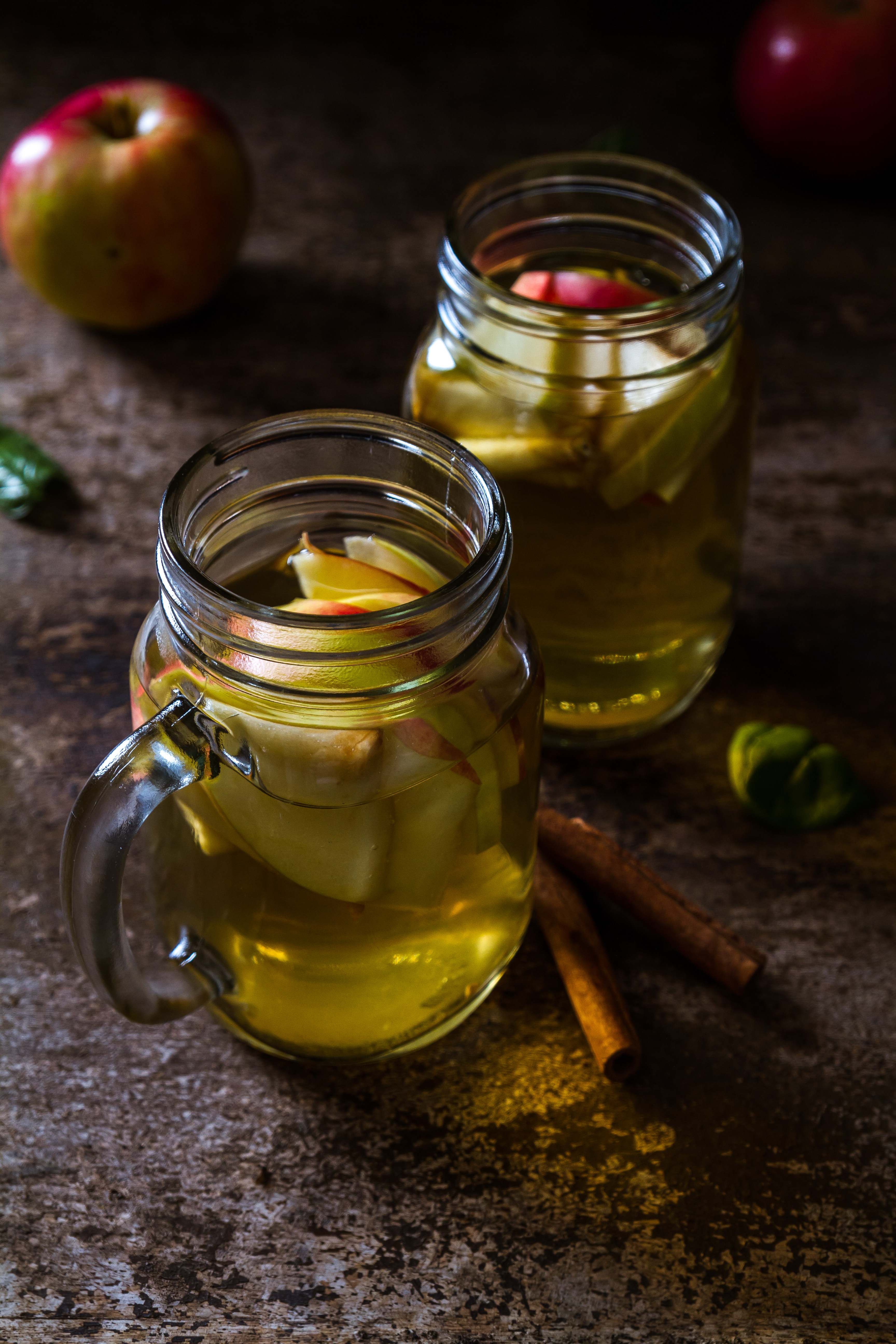 Dark Ginger Apple Cider Punch