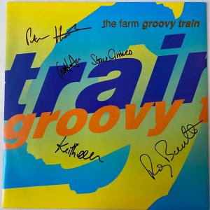 """Groovy Train Autographed 12"""""""