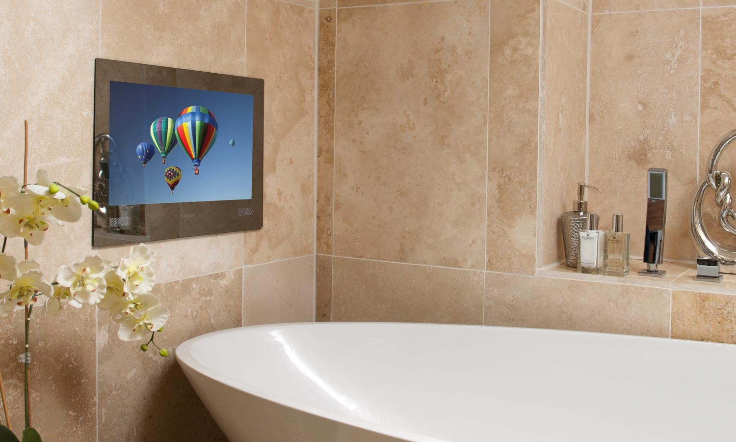 Is a TV In The Bathroom a Necessity Or a Luxury  The Fashionable Housewife