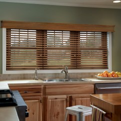 Kitchen Blinds Wire Rack Wood The Fashionable Housewife