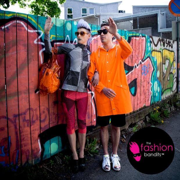 The Fashion Bandits on the move