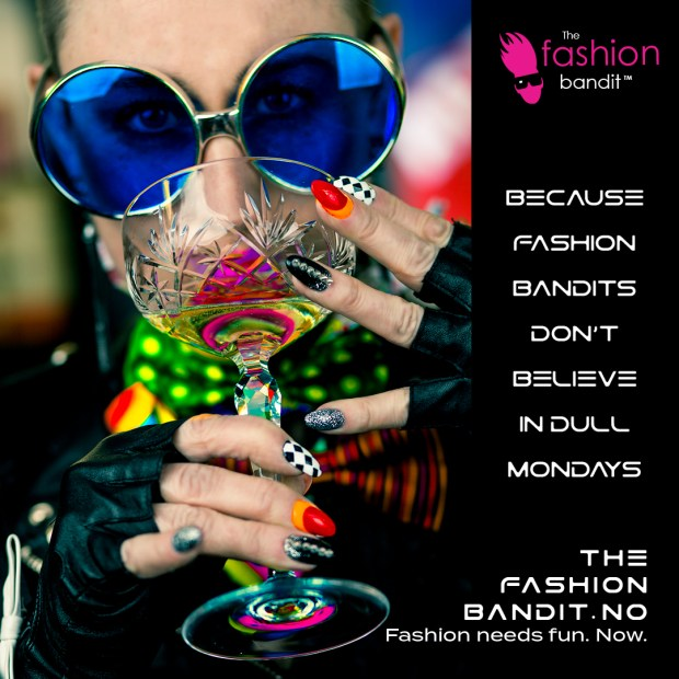 A very bright and colourful Fashion Bandit / Benedikte St.Pierre