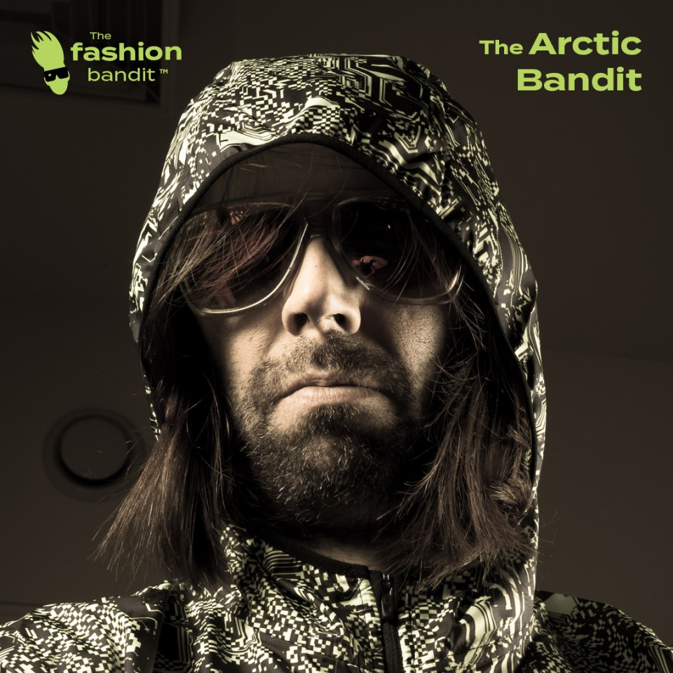 Portrait of The Arctic Bandit Sindre Solvin - for The Fashion Bandit