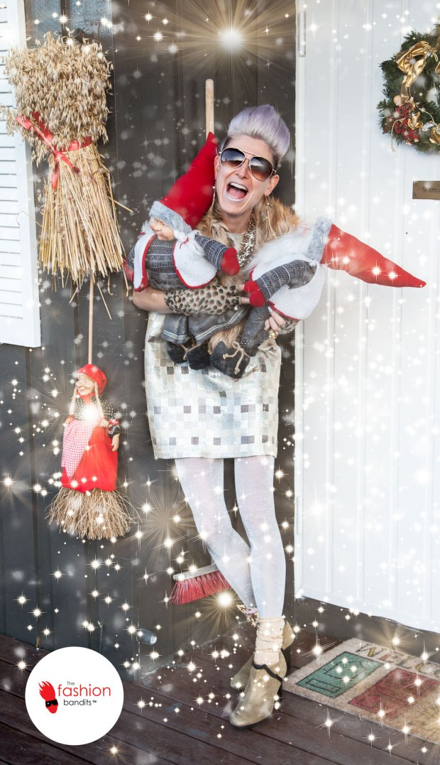 Benedikte St.Pierre of The Fashion Bandits is in excellent Christmas mood!
