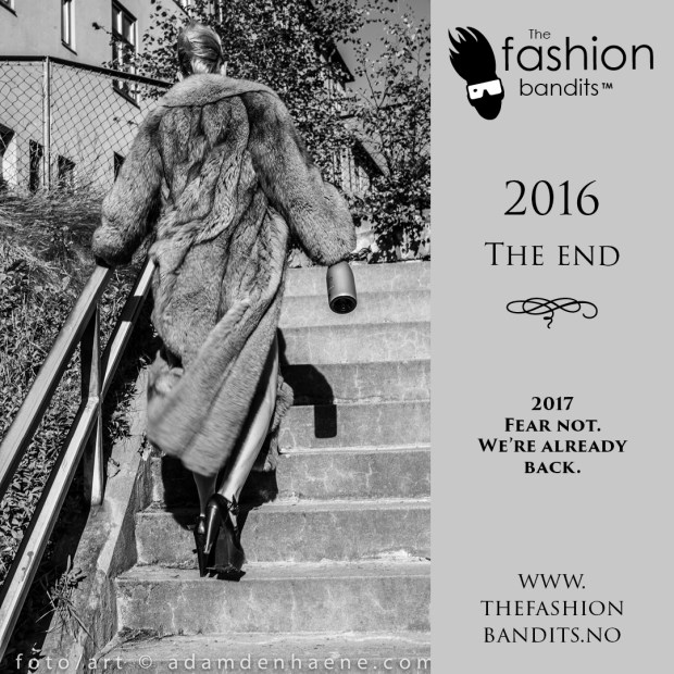 Benedikte St.Pierre of The Fashion Bandits is turning her back on 2016