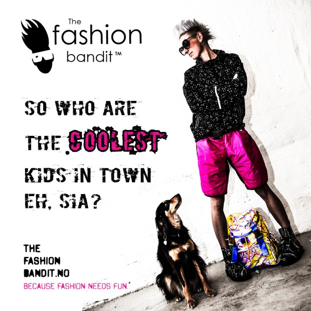 The Fashion Bandit Benedikte St.Pierre and her dog Sia is definitely the coolest kids in town!