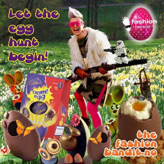 The Fashion Bandit Benedikte St.Pierre is on this years big Egg Hunt for Easter!