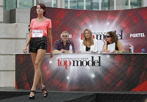Fashion Blog   Australia's Next Top Model 2013 Auditions Heat Up Perth.
