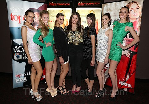 Australia's Next Top Model Premiere's First Episode In Perth