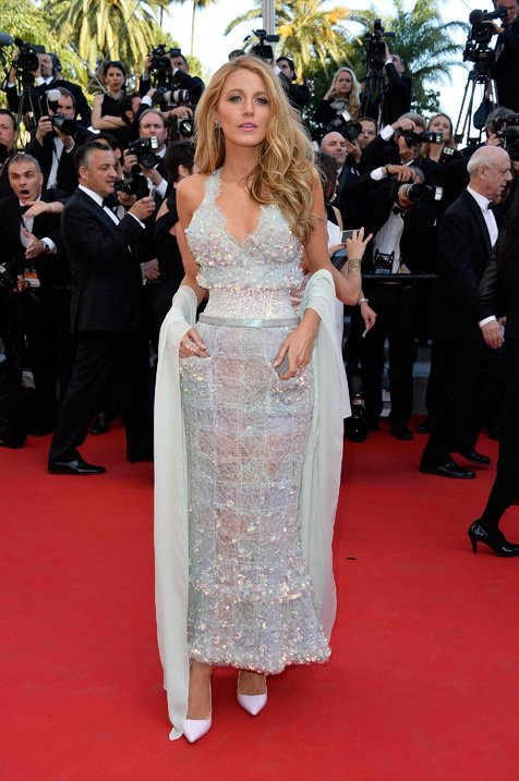 Blake Lively Wears CHANEL To Cannes Film Festival 2014