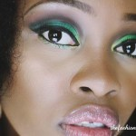 Makeup of the day: Green Smokey Eye
