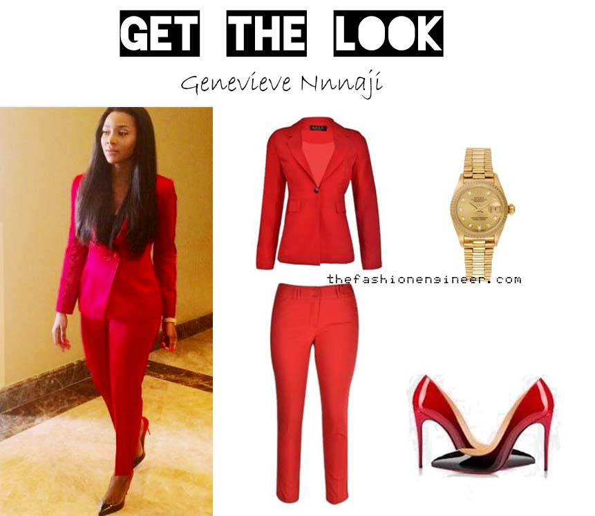 genevieve nnaji fashion