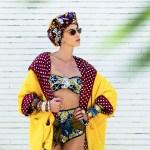 35 African Print Swimwear Designs You'll Love