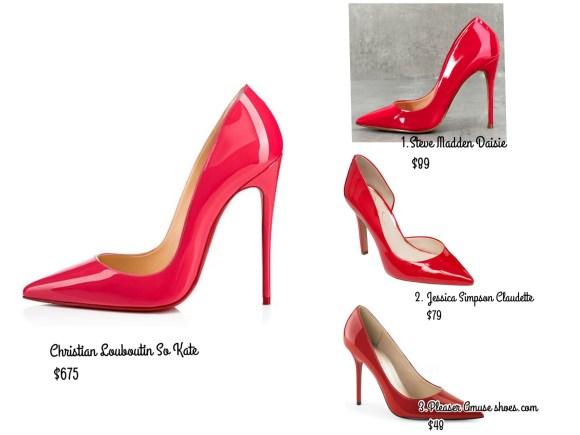 shoes similar to christian louboutin