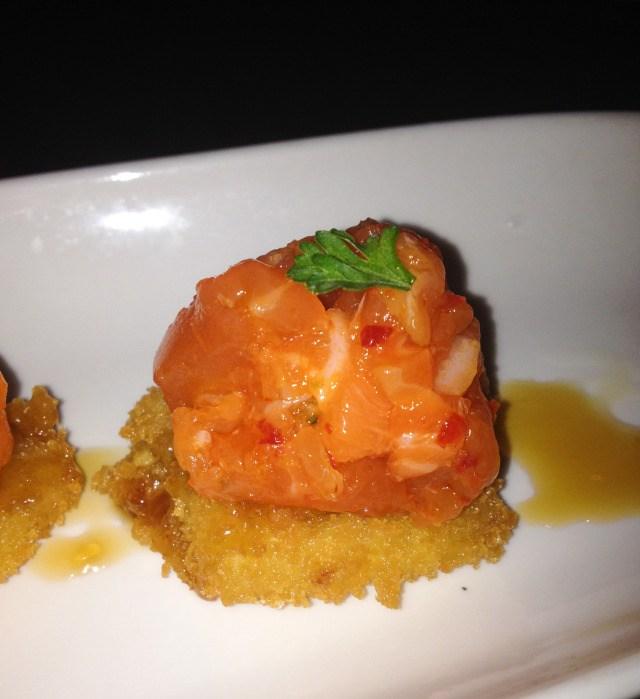 Bluefish Sushi Salmon Tartar