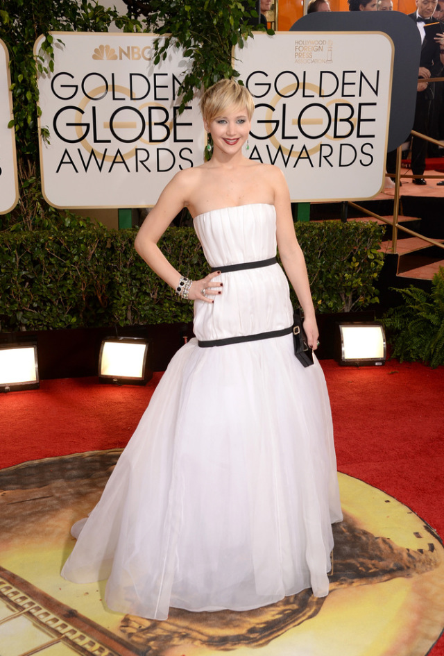Jennifer Lawrence Golden Globes Winner 2014