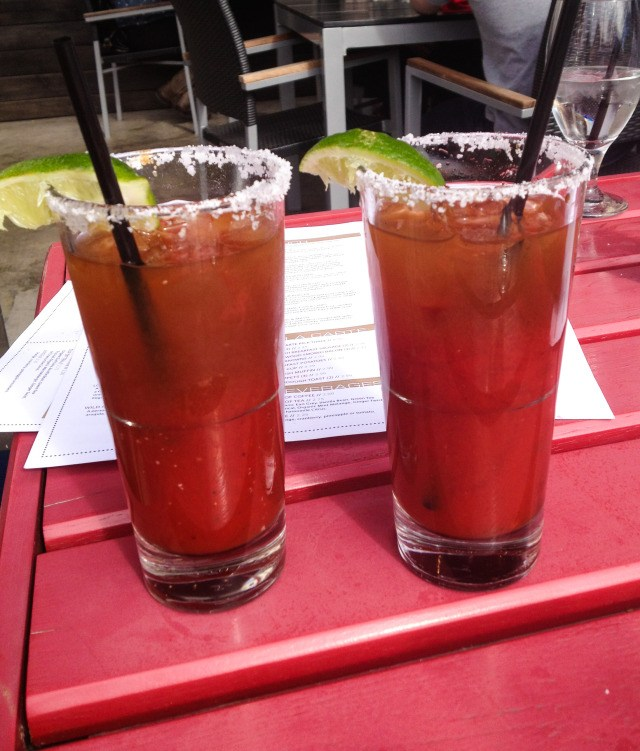 BBC Dallas Brunch Bloody Mary's