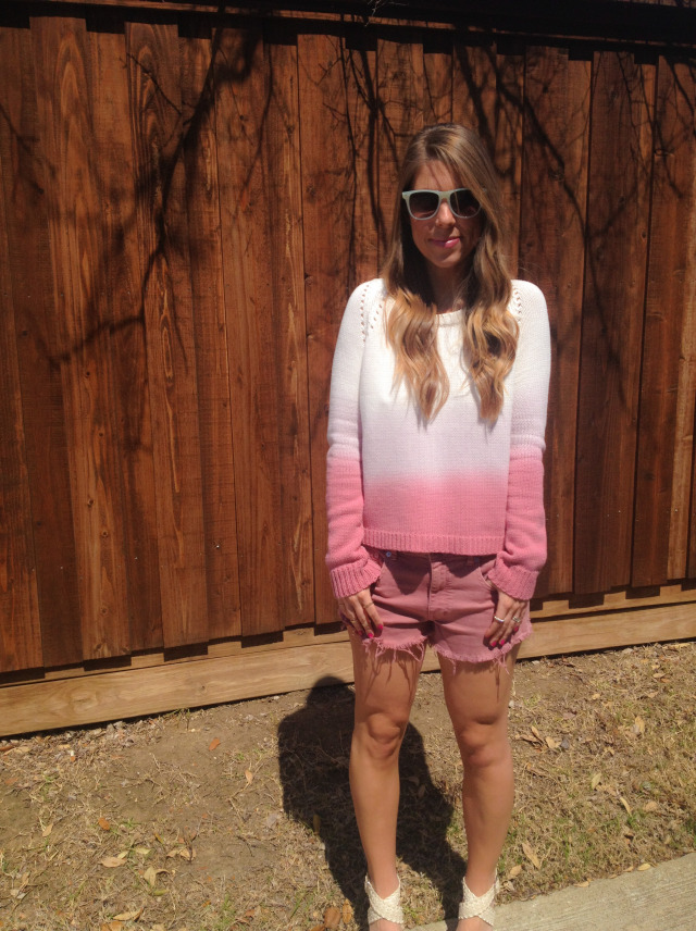 BB Dakota Ombre Sweater