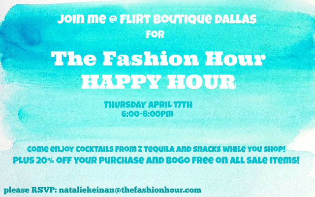 FLIRT DALLAS HAPPY HOUR
