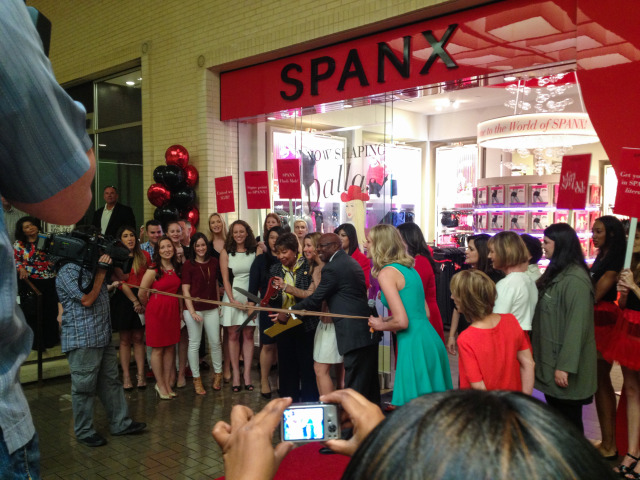 Spanx Dallas Grand Opening at Northpark Center