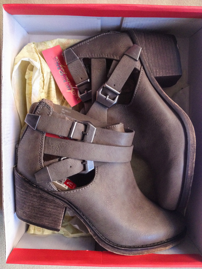 American Rag Booties Original Price: $69 Sale Price: $17.25 75% off!