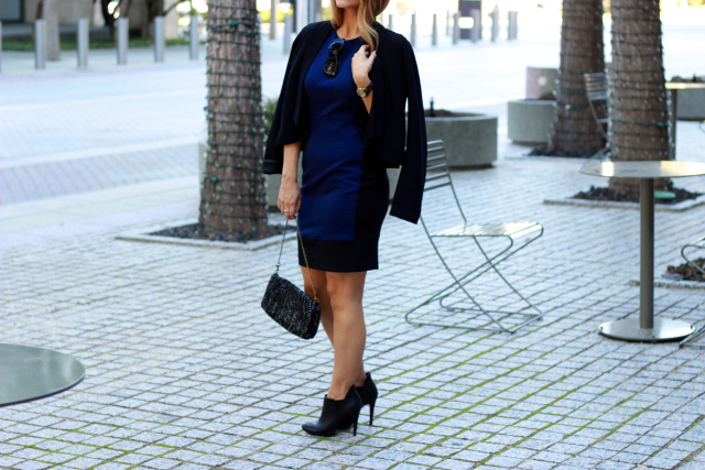 Black and Navy