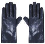 Topshop Navy Blue Gloves