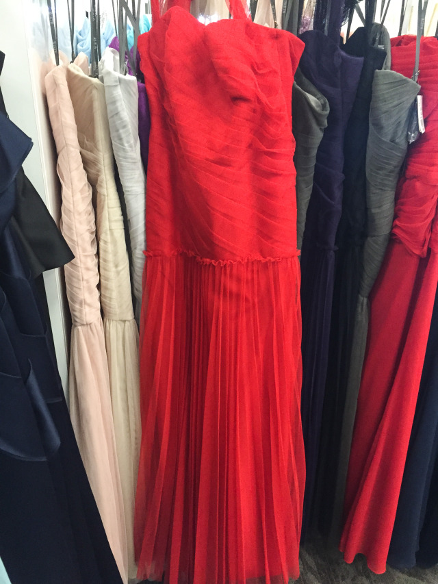 Red Carpet Red Tulle Gown