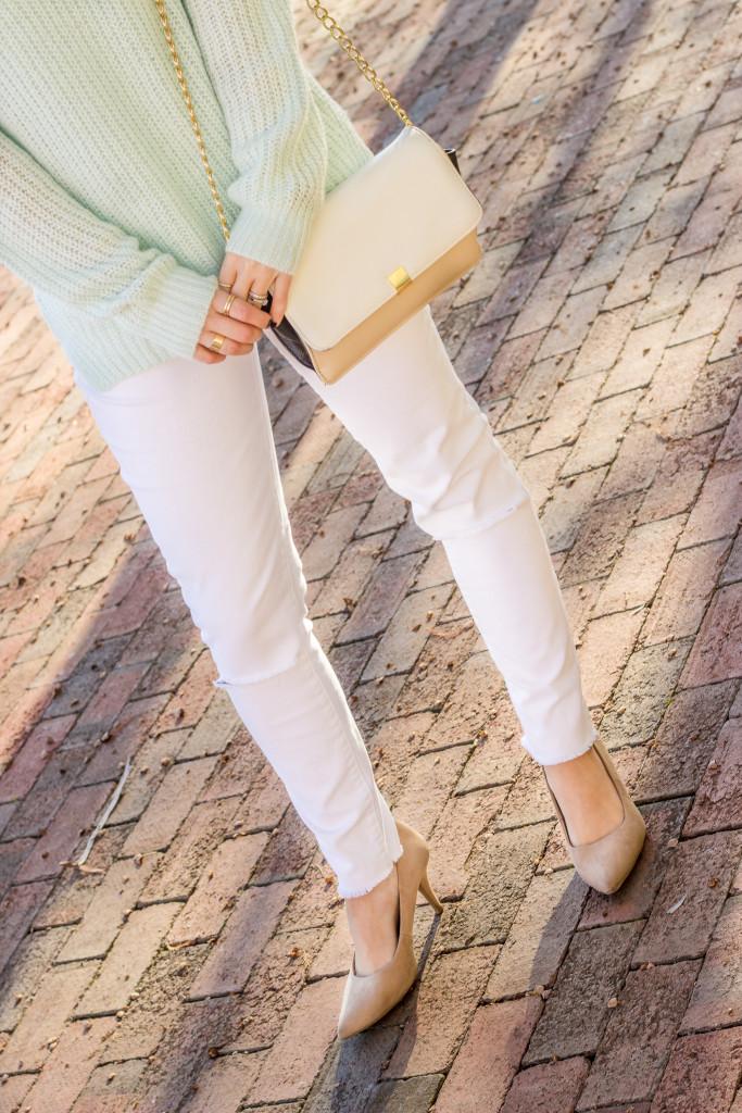 Dallas Fashion Blog White Jeans