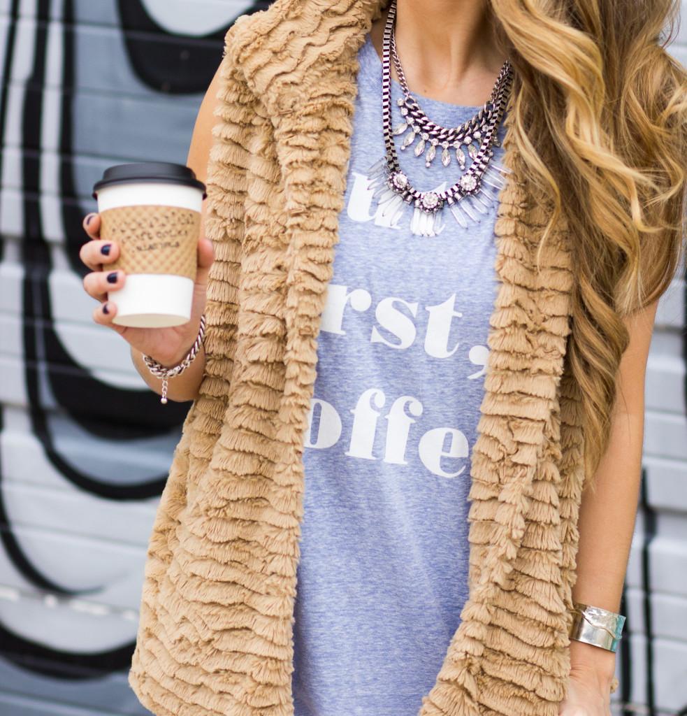 But First, Coffee Tee Fashion