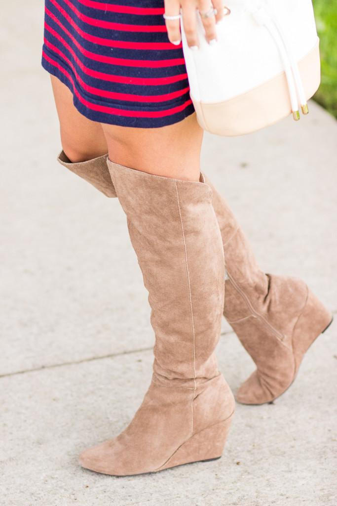 Jessica Simpson Style OTK Boots
