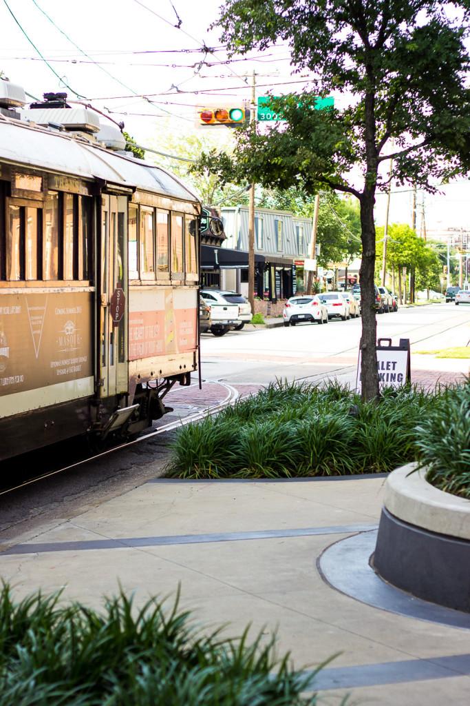Mckinney Avenue Trolley Uptown Dallas