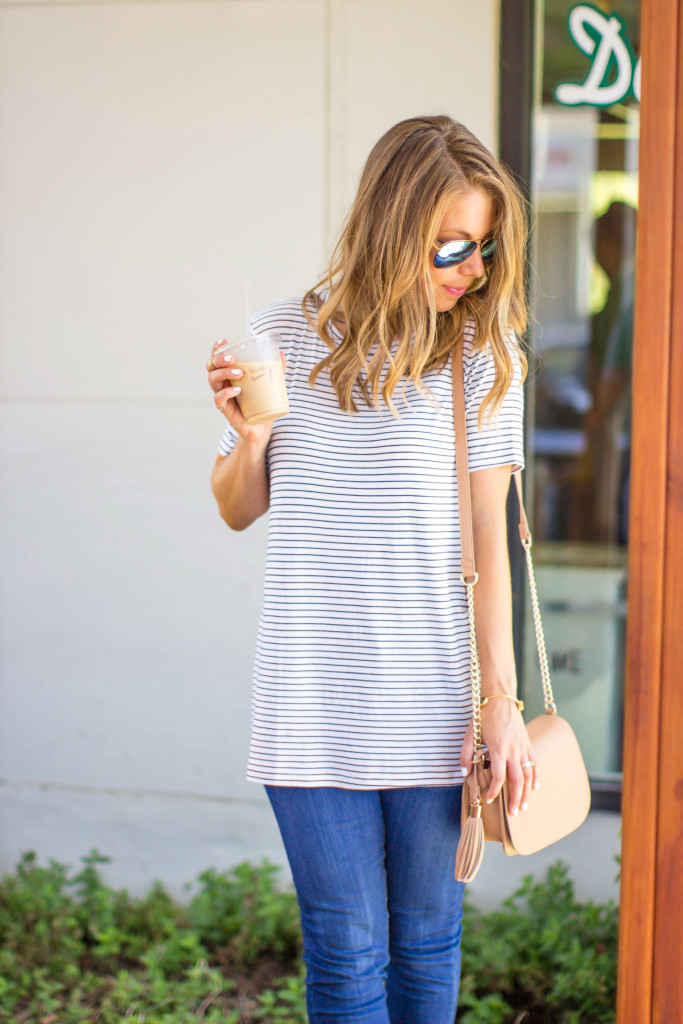 Forever-21-Striped-Tee