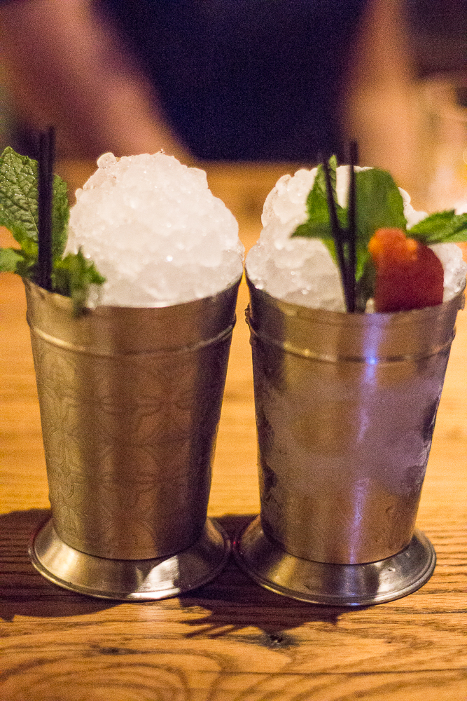 Traditional Julep and Tobacco Peach Julep