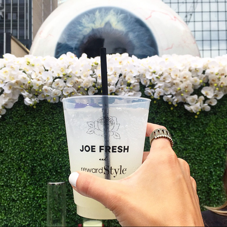 Joe Fresh rewardStyle party